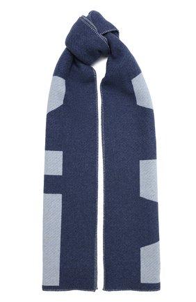 Мужской шарф из шерсти и кашемира ISABEL MARANT синего цвета, арт. EC0242-20A019J/L0LI | Фото 1