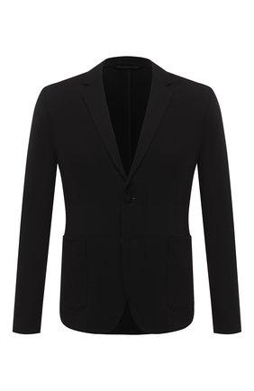 Мужской пиджак HUGO черного цвета, арт. 50437868 | Фото 1