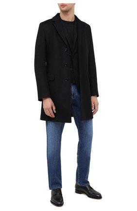 Мужской пиджак HUGO черного цвета, арт. 50437868 | Фото 2