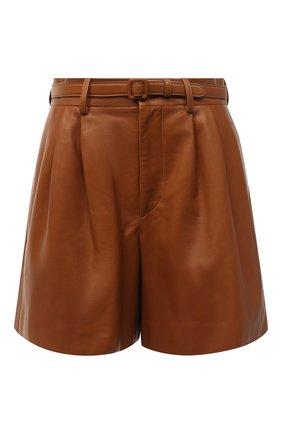 Женские шорты RALPH LAUREN коричневого цвета, арт. 290815956 | Фото 1
