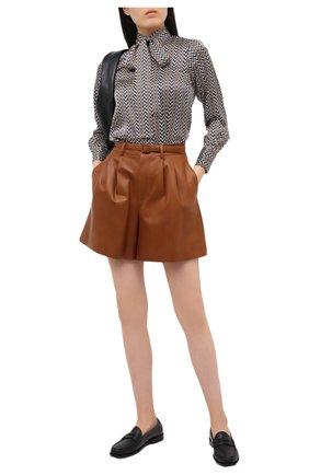 Женские шорты RALPH LAUREN коричневого цвета, арт. 290815956 | Фото 2