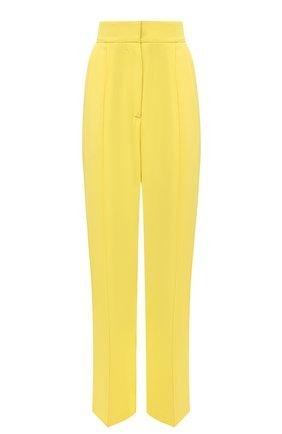 Женские брюки MSGM желтого цвета, арт. 2943MDP04 207600 | Фото 1