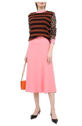 Женская пуловер MSGM разноцветного цвета, арт. 2943MDM118 207632 | Фото 2