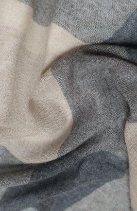 Мужские кашемировый шарф KITON серого цвета, арт. D50742X04T88 | Фото 2