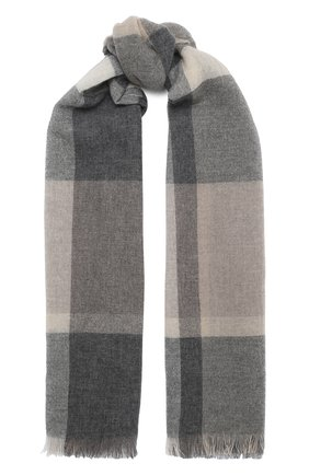 Мужские кашемировый шарф KITON разноцветного цвета, арт. D50741X04T87 | Фото 1