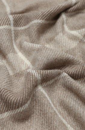 Мужские кашемировый шарф stola LORO PIANA серого цвета, арт. FAL2712 | Фото 2