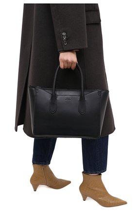Женская сумка-тоут POLO RALPH LAUREN черного цвета, арт. 428765941 | Фото 2