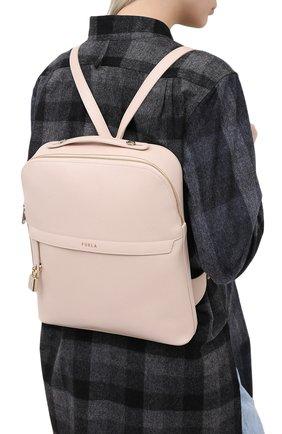 Женский рюкзак piper FURLA светло-розового цвета, арт. BAHZFPI/ARE000 | Фото 2