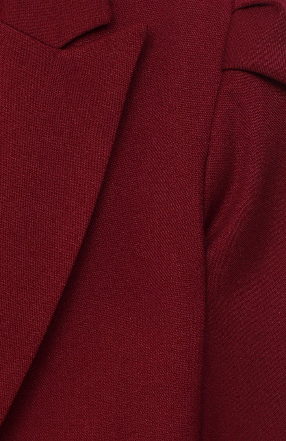 Детский жакет ALETTA бордового цвета, арт. AF000443N/9A-16A | Фото 3