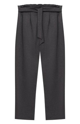 Детского брюки ALETTA темно-серого цвета, арт. AF000540N/4A-8A | Фото 1
