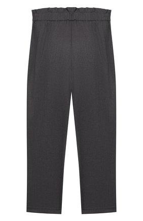 Детского брюки ALETTA темно-серого цвета, арт. AF000540N/4A-8A | Фото 2