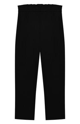 Детского брюки ALETTA черного цвета, арт. AF000540N/4A-8A | Фото 2