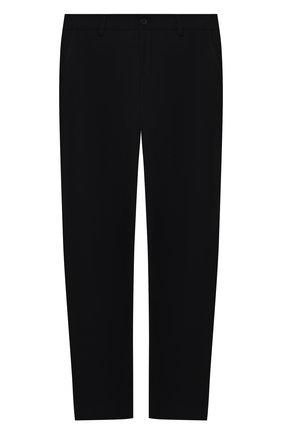 Детские брюки ALETTA черного цвета, арт. AMC000638N/9A-16A | Фото 1