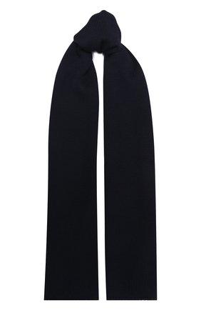 Детский шерстяной шарф IL TRENINO темно-синего цвета, арт. 20 4030/LS   Фото 1