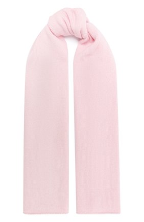 Детский шерстяной шарф IL TRENINO розового цвета, арт. 20 8220/E0 | Фото 1