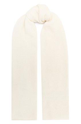 Детский шерстяной шарф IL TRENINO белого цвета, арт. 20 8220/E0   Фото 1