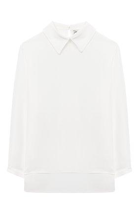 Детское блузка SIMONETTA бежевого цвета, арт. 1N5010/NC120/5-8 | Фото 1