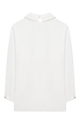 Детское блузка SIMONETTA бежевого цвета, арт. 1N5010/NC120/5-8 | Фото 2