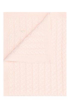Детского шерстяное одеяло IL TRENINO светло-розового цвета, арт. 20 7810/E0 | Фото 1