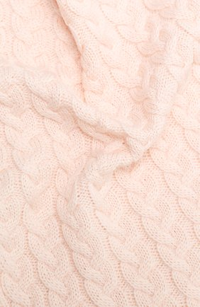 Детского шерстяное одеяло IL TRENINO светло-розового цвета, арт. 20 7810/E0 | Фото 2