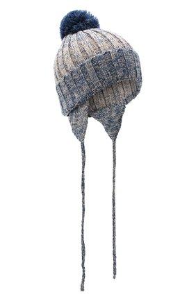 Детского шерстяная шапка IL TRENINO разноцветного цвета, арт. 20 7893/E0 | Фото 1