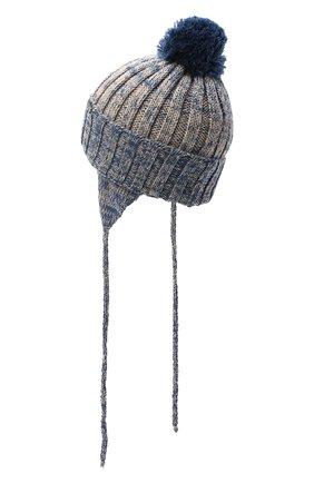Детского шерстяная шапка IL TRENINO разноцветного цвета, арт. 20 7893/E0 | Фото 2
