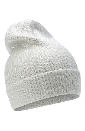 Детского шерстяная шапка IL TRENINO белого цвета, арт. 20 7990/E0 | Фото 1