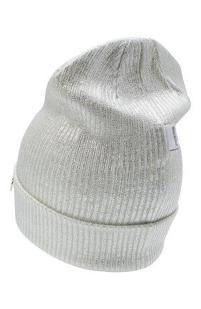 Детского шерстяная шапка IL TRENINO белого цвета, арт. 20 7990/E0 | Фото 2