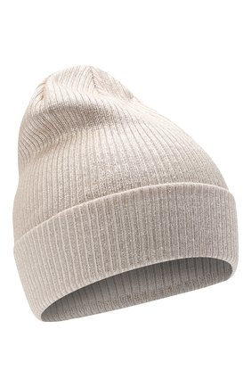 Детского шерстяная шапка IL TRENINO бежевого цвета, арт. 20 7990/E0 | Фото 1