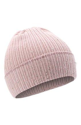 Детского шерстяная шапка IL TRENINO розового цвета, арт. 20 8030/E0 | Фото 1