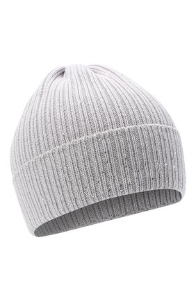 Детского шерстяная шапка IL TRENINO светло-серого цвета, арт. 20 8030/E0 | Фото 1