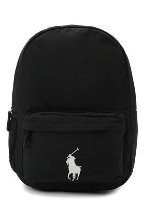 Детская рюкзак POLO RALPH LAUREN черного цвета, арт. 400769223 | Фото 1