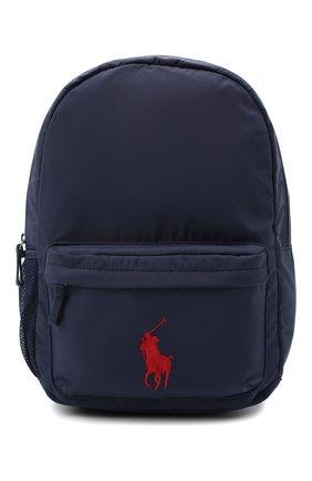 Детская рюкзак POLO RALPH LAUREN синего цвета, арт. 400769223 | Фото 1
