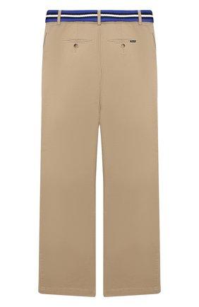 Детские брюки POLO RALPH LAUREN бежевого цвета, арт. 323785694 | Фото 2