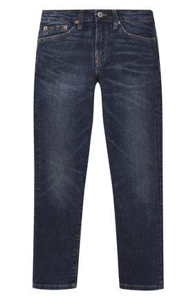 Детские джинсы POLO RALPH LAUREN синего цвета, арт. 323784322   Фото 1
