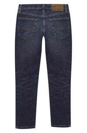 Детские джинсы POLO RALPH LAUREN синего цвета, арт. 323784322   Фото 2