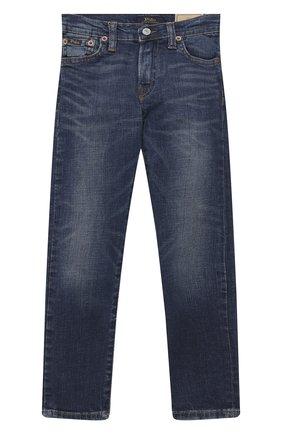 Детские джинсы POLO RALPH LAUREN синего цвета, арт. 322784322   Фото 1