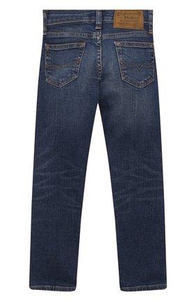 Детские джинсы POLO RALPH LAUREN синего цвета, арт. 322784322   Фото 2
