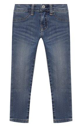 Детские джинсы POLO RALPH LAUREN синего цвета, арт. 311734059 | Фото 1