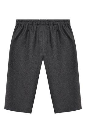 Детские шерстяные брюки GUCCI серого цвета, арт. 616382/XWAJ5 | Фото 2