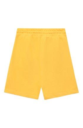 Детские хлопковые шорты MAKODAY желтого цвета, арт. MA20Sh007/CoPs02 | Фото 2