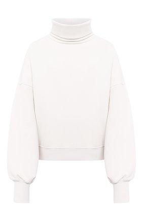 Женская хлопковый свитшот AGOLDE белого цвета, арт. A7040   Фото 1