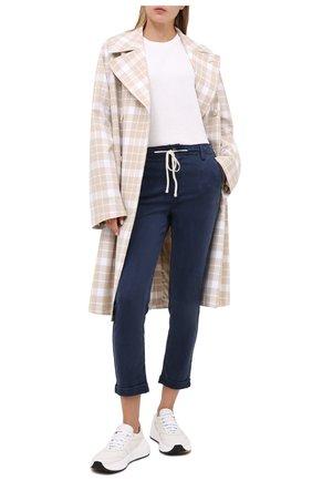 Женские брюки PAIGE синего цвета, арт. 5659G42-2235 | Фото 2