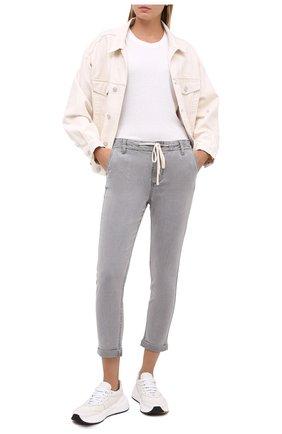 Женские брюки PAIGE серого цвета, арт. 5659G42-1933 | Фото 2