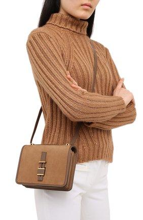 Женская сумка LORO PIANA коричневого цвета, арт. FAL3320 | Фото 2