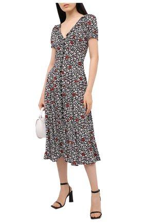 Женское платье из вискозы POLO RALPH LAUREN разноцветного цвета, арт. 211800587 | Фото 2