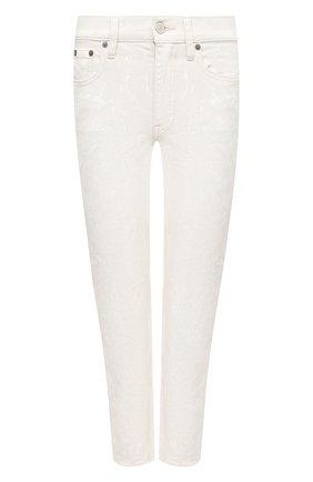 Женские джинсы POLO RALPH LAUREN белого цвета, арт. 211799669 | Фото 1