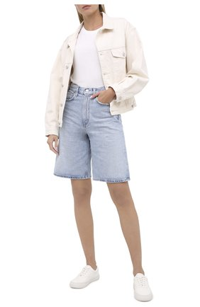 Женские кожаные кеды POLO RALPH LAUREN белого цвета, арт. 818809668 | Фото 2