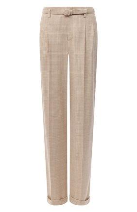Женские шерстяные брюки RALPH LAUREN бежевого цвета, арт. 290825758 | Фото 1