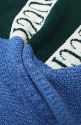 Мужские шерстяной шарф EMILIO PUCCI зеленого цвета, арт. 0RKX05/0R958 | Фото 2